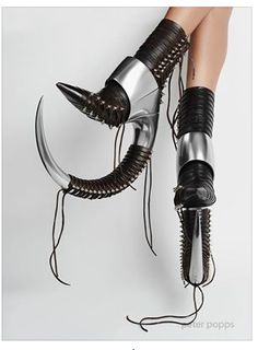 OMG, I would SOOOO kill myself in these!!!