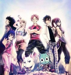 Fairytail is the best ANIME AND TV SHOW AND MANGA IN THE WHOLE WIDE UNIVERSE!!!!! HIRO MASHIMA SHOULD RLLY CONTINUE ON THIS FOR 100 MORE YEARS!!!!!