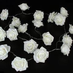 2M Wedding Decoration Rose Flower LED Bouquet String Lights - Wedding Look