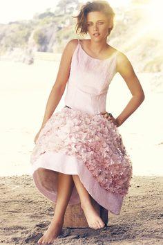 Kristen wears organza skirt and sequin top,m both Chanel | Kristen Stewart Harper's Bazaar UK cover - interview and pictures | Harper's Bazaar