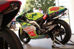 Aprilia's Valentino Rossi Bikes