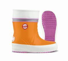 Nokian Kinder Gummistiefel Hai orange pink Hai, Orange, Pink, Footwear, Socks, Fashion, Welly Boots, Branding, Children
