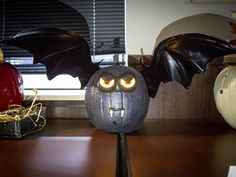 CoServ 2015 Pumpkin Carving Contest Entry (Bat)