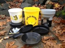 Gold Rush Nuget Bucket - Gold Panning and Gem Prospecting Kit, As Seen on Shark Tank