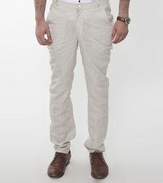 Beige Linen Trouser #fusionwear #jackets #kurtas #menswear
