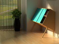 """Chin up Storage Unit""  Interior design room  http://interiordesignroom.blogspot.com/2012/01/chin-up-storage-unit.html"