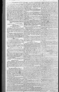 The North Carolina Journal 22 April 1799, page 2 with report of camp near Sellers property