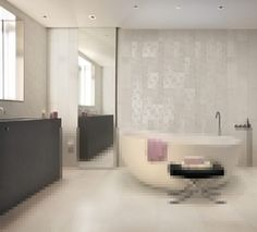 #Cerdomus #Contempora Geometrie Bianco (6 soggetti Mix) Decorato 60x60 cm 60906 | #Porcelain stoneware #Decor #60x60 | on #bathroom39.com at 43 Euro/sqm | #tiles #ceramic #floor #bathroom #kitchen #outdoor