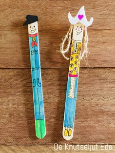 IJslollystokjes Boer en boerin met hun boerderijdieren | Boerderij Boerderijdieren Boer-boerin | Ijsstokjes houten stokjes-kinderen | Knutselen knutseltips creatief-houtjes (26)