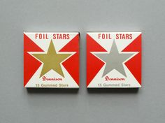 Wow, a gold foil star used to mean so much on a school paper!
