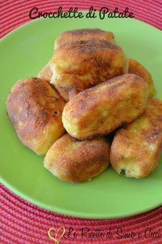 No Salt Recipes, Veggie Recipes, Cooking Recipes, Italian Dishes, Italian Recipes, Chefs, Italian Street Food, Albondigas, Potato Dishes
