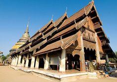 Wat Phra That Lampang Luang - Lampang Province, Thailand. Island Info, Koh Samui