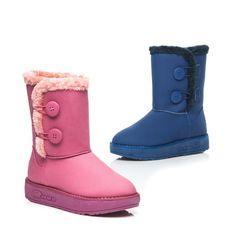 ZIMOWE MUKLUKI Z GUZIKAMI - Sklep IMMODA.pl #mukluki #sniegowce #buty #moda #polishgirl #poland #okazje #winter