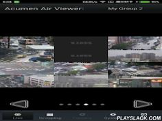 Acumen Air Viewer  Android App - playslack.com ,  Acumen Air Viewer is the remote video client for Acumen's NVR, DVR, and IP Camera products.This app can view live video and record files playback, so that customers can monitor what they want from very far distance. ------------------------------------- ABOUT ACUMEN Int. Corp ------------------------------------- ACUMEN Int. Corp. is a manufacturer and supplier of high quality, reliable video surveillance system: cameras, video recorders…