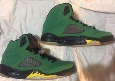 online retailer edea5 f5537 Rare-Limited-Edition-Nike-Air-Jordan-Retro-5-034-Oregon-Ducks-034-Size-11- 2013