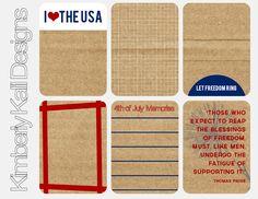 Americana Printables