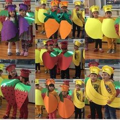 656 Likes, 8 Comments - Okul Ö School Projects, Projects For Kids, Crafts For Kids, Class Decoration, School Decorations, Preschool Art, Preschool Activities, Vegetable Crafts, Fruit Crafts