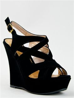 strappy wedge $31.00