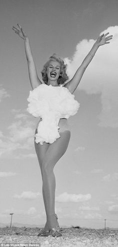 Miss Atomic Bomb pageants were held in Nevada during the 'atomic age'and Lee…