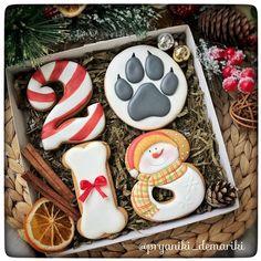 70 DIY Ideas of Simple Christmas Cookies Galletas Cookies, Dog Cookies, Fancy Cookies, Vintage Cookies, Cupcake Cookies, Christmas Cup, Merry Christmas And Happy New Year, Christmas Baking, Simple Christmas