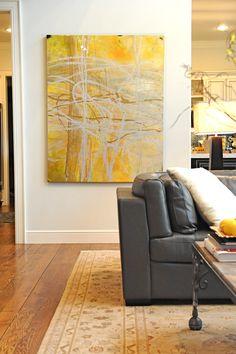 Bilder müssen zu den farblichen Akzente passen (teppich/ kissen) impact of art in decorating