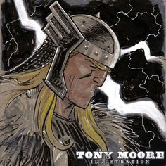 Sketch of the Day! THOR — COLONEL TONY MOORE