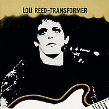 Lou Reed -Transformer - Nov. 8 1972 The cover art was from a Mick Rock photograph that fortuitously went out of focus as he was printing it in the darkroom. Rock noticed the flaw but decided he liked the effect, so he submitted the image for the front cover.