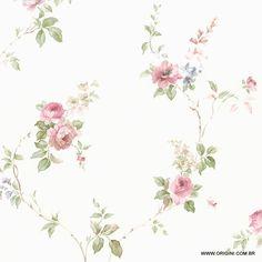 Foto principal de Papel de Parede Rose Garden Origini Norwall CN24621
