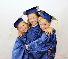 #kindergarten #graduation #triplets #photography