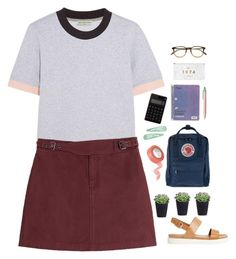 """""""classroom"""" by blogueuse-m ❤ liked on Polyvore featuring Balenciaga, Marc by Marc Jacobs, Garrett Leight, Fjällräven, ALDO, CB2 and ihatethistimeofyear"""