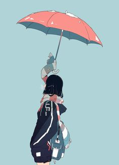 Cool Anime Girl, Anime Art Girl, Manga Art, Aesthetic Art, Aesthetic Anime, Aesthetic Drawing, Arte Peculiar, Pastel Art, Kawaii Art