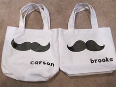 Every kid needs their own stache! Reusable Tote Bags, Kids, Children, Boys, Children's Comics, Boy Babies, Kid, Kids Part, Child