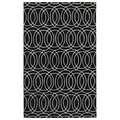 Found it at AllModern - Revolution Black Area Rug