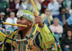 Annual World Championship Hoop Dance Contest. The hoop or circle is symbolic to all Native people. It represents the Circle of Life and the continuous cycle of summer and winter, day and night, male and female.