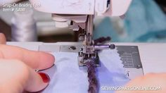 Braiding Foot: For Practical and Decorative Uses - Sewing Parts Online Blog
