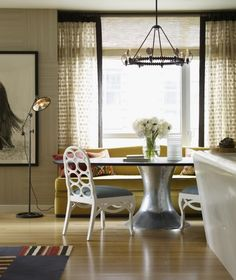 Riverhouse - traditional - dining room - new york - Thom Filicia Inc.