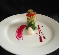 Gastronomia: MONTAJE DE PLATOS