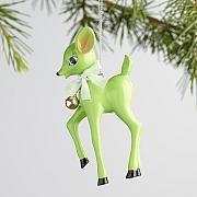 Retro Deer Ornaments Set of 4