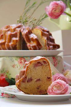 bundt cake fresas nata 4