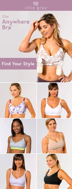 6ff66f590b0 Check out the brand new Anywhere Bra. Breastfeeding Bras