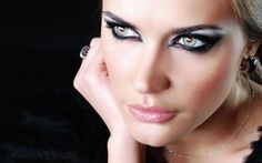 Wallpaper makeup, model, sexy