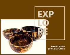 This beautiful and practical bowl is hand carved from mango wood, a rich brown sustainable wood. The dark and light tones of browns make an excellent bowl.