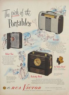 1940's RCA Transistor Magazine Advertisement by TheVintageResource
