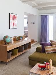Image result for toy storage living room mid century style