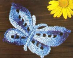 crochelinhasagulhas: butterfly