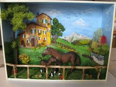 Quadretto con cavalli 1