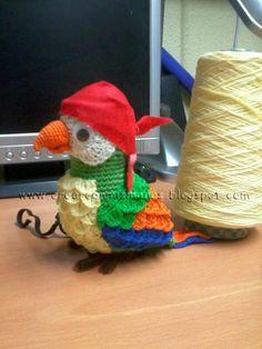 loro al crochet - Buscar con Google