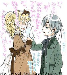 Ciel e Elizabeth
