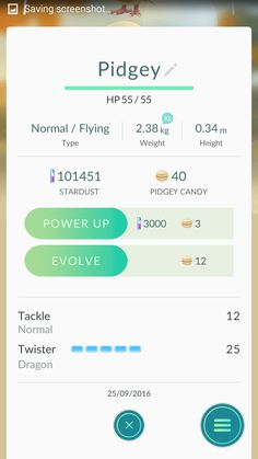 Pidgey who knows Twister a Dragon move... what?