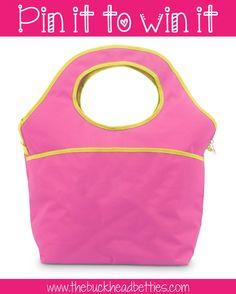 Buckhead Betties color block insulated carry all bag @Buckhead Betties #BHBpintowin